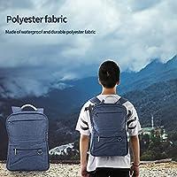 ラップトップバックパック、プロのオフィスワークバッグカレッジと高校のスクールバッグ用の個別のラップトップコンパートメントで防水の大学のスクールブックバッグ