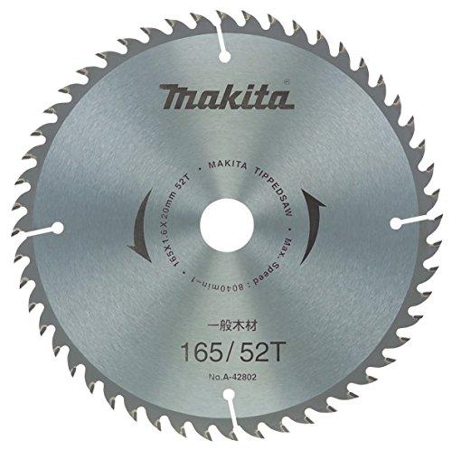 マキタ(Makita) チップソー 外径165mm 刃数52T 一般木工用(逆勝手用) A-35411