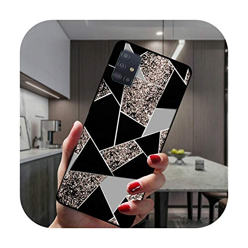 Carcasa para Samsung Galaxy M51 M31 M11 M21 M30S M40 NOTE 20 Ultra 10 Pro 9 8 Negro Suave Silicona Cover BTPU-C3679-NOTE 10 Lite