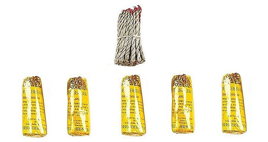 させるゴシップグッゲンハイム美術館ルンビニRope Incense Dhoop ( 6?in 1パケット)