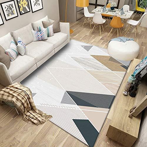 DJUX Alfombra de Piel de Oveja sintética Suave con Forma de corazón Doble para el hogar, salón, balcón, sofá, Dormitorio,80x120cm
