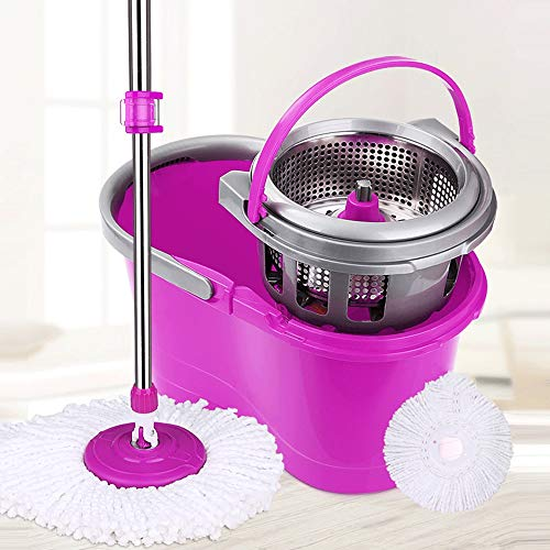 HS-01 Rotary Mop Double Drive huismop Bucket Free Hand Faule Mopping automatisch water nat- en droog mop