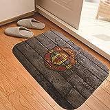Entrada Manchester United Real Madrid Barcelona AC Milan alfombra de fútbol sala de estar dormitorio alfombra de piso alfombra de piso sala de estar absorbente antideslizante dormitorio-UNA_40 * 60