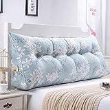 Tokyia Cojín lumbar para sofá de doble espalda, suave para cama, almohada lumbar (color: N, tamaño: 135 cm)