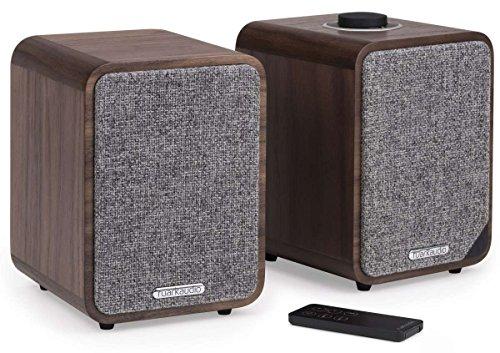 ruarkaudio MR1 MKII aktive Bluetooth-Lautsprecher, Paar, Walnuss (rich walnut)