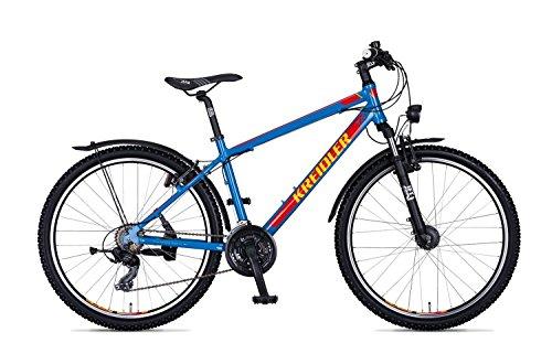 Kreidler Dice 1.0 Street 26R Tourney Mountain Bike 2018 (51cm, Blau glänzend)