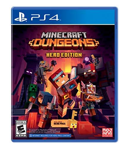 Minecraft Dungeons - PlayStation 4 - Hero Edition