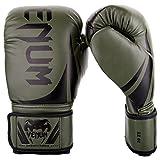 VENUM Challenger 2.0 Guantes de Boxeo, Unisex Adulto, Verde Caqui/Negro, 12 oz