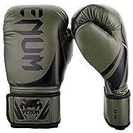 Venum Challenger 2.0 Boxing Gloves - Khaki/Black - 12-Ounce
