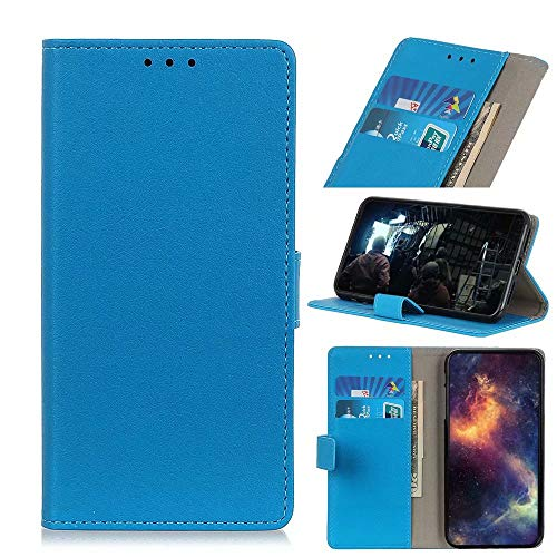 GARITANE Funda Compatible con OnePlus 9 Pro,Carcasa con Tapa magnética de Cuero Tarjetero y Suporte Capa Plegable Cartera Flip Cover Case(Azul)