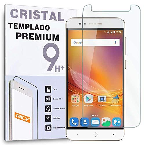 REY Protector de Pantalla para ZTE Blade A610, Cristal Vidrio Templado Premium