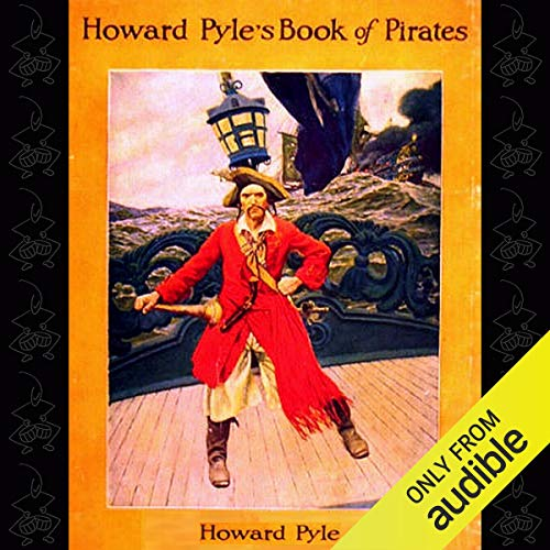 Howard Pyle's Book of Pirates audiobook cover art