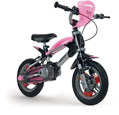 INJUSA Élite - Bicicleta evolutiva (de 3 a 6 años, máx. 50 kg.), rosa