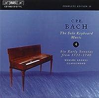 C・P・Eバッハ:鍵盤作品集 第4集