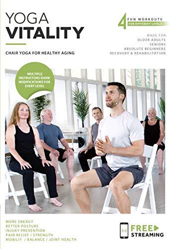 Yoga Vitality - Chair Yoga For Seniors, Older...