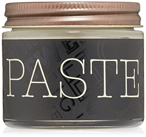 18.21 Man Made Hair Paste Pomade with Natural Shine Finish for Men, Sweet Tobacco, 2 oz - Texture Styling Paste for Shaping, Molding All Hair Types - Long-Lasting Satin Sheen Style with Flexible Hold