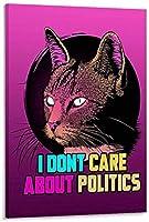 ZZFJF パズルジグソーパズル大人のための1000個面白い私は政治を気にしないパズルアート現代家族屋内ゲームパズル50x75cm