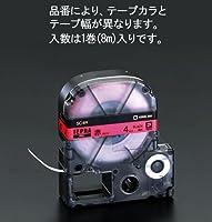 エスコ ESCO テープカセット(赤) 4mm EA761DK-41