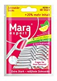 Mara Expert Palillos de seda dental de, limpieza interdental y de lenguas, hilo dental encerado y...