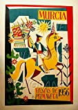 PostersAndCo Murcia Fiesta 1956 Poster / Kunstdruck, 40 x