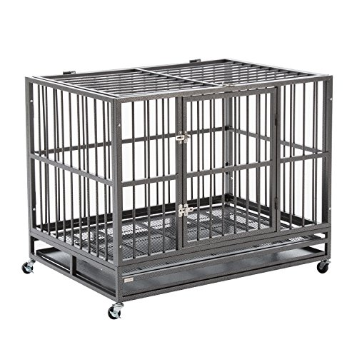 Sliverylake XXL Heavy Duty Dog Pet Cage