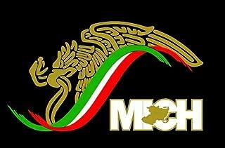 Creative Club Stickers Mexico Michoacan Sticker Decal MICH Eagle Escudo Aguila Gobierno de Mex Vinyl Car Window Truck 7 in.
