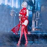 1/6 Figura Serie de Ropa MM011 Miss 2b's Lace Cheongsam Set Tres Colores,Rojo...