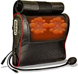 MXT Shiatsu Neck Back Massager with Inflatable Cervical Neck Traction-Massage Pillow with Heat-Deep Tissue Pressure Point Muscle Massager for Neck, Lower/Upper Back, Shoulder- Neck Stretcher Pillow