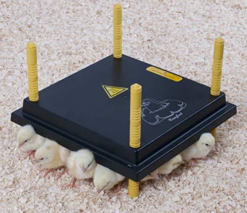 Olba Comfort Wärmeplatte 30x30cm für Küken, 22W/ 220-240V