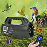 Xinwoer Electronic Call Outdoor Bird Hunting Sounds Voice Caller Player Loudspeaker with Remote Control,Built-in More Than 400 Different Sounds
