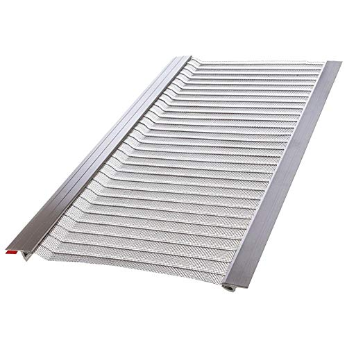 4 ft. Stainless Steel 5 in. Micro-Mesh Gutter Guard...