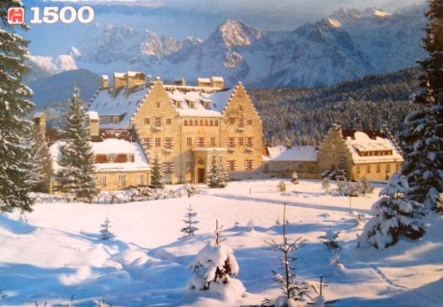 Ellmau in the Snow, Austria   1500 Piece Puzzle by Jumbo