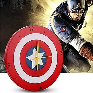 3D Light Captain America Shield Bed Lights for Kids led lamp Book Light led Night Light Wall Avengers lamp