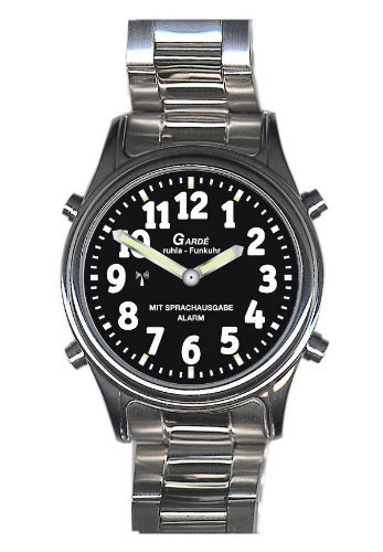 Sprechende Uhr mit Funk und Alarm Garde Ruhla RC Watch 1138-7M