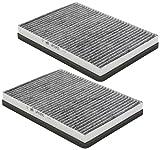 Original MEYLE interior filtro bmw x5 e70 x6 e71 prot polen carbón activado conjunto de filtros