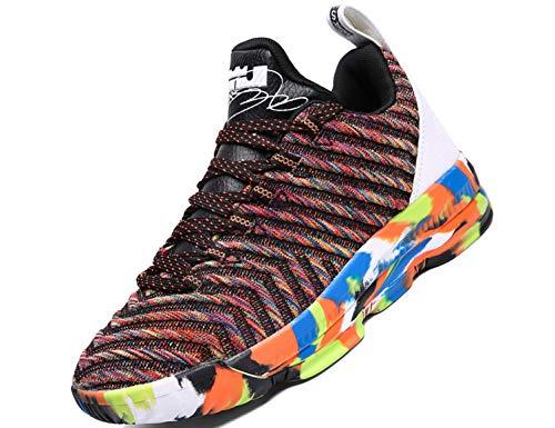SINOES 2020 Zapatos para Correr Deportivas para Hombre Caminar Fitness Slip on Zapatillas con Knit Calcetín Alta Top Air Sneakers