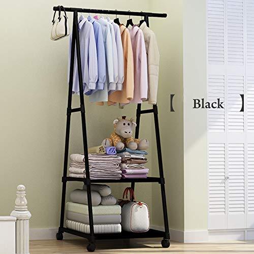 LESHARED Creative Triangle Coat Rack nonwovens Eenvoudige montage kan worden verwijderd Slaapkamer bewegen kleding hanger garderobe huismeubilair