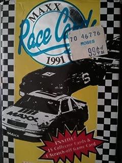 Maxx Race Cards Vintage 1991 15 card pack