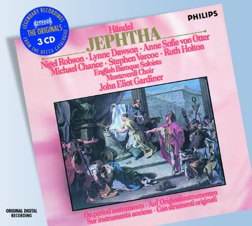 Lynne Dawson, Ruth Holton, Anne Sofie von Otter, Michael Chance, Nigel Robson, Stephen Varcoe, The Monteverdi Choir, English Baroque Soloists & John Eliot Gardiner