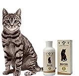 101 love for pet shampoo dolci fusa per gatti, 250ml - arricchito con ingredienti di origine vegetale e naturale - svolge un'azione anti-annodante ed elimina lo sporco - adatto a tutti i tipi di pelo