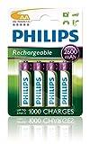 Philips Multi Life NiMH Akku AA Mignon 2600 mAh 4er Pack