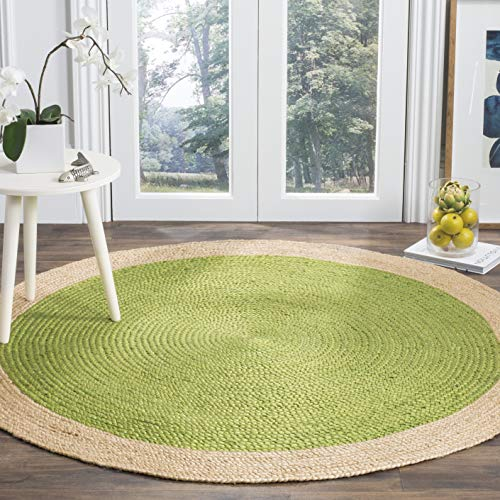 "Mejor nuLOOM Natura Collection Chunky Loop Jute Runner Rug, 2' 6"" x 8', Natural crítica 2020"
