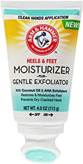 Arm & Hammer Heels & Feet Moisturizing Scrub With Gentle Exfoliator - 1 Pack