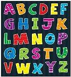 Carson Dellosa Alphabet Shape Stickers (168033)