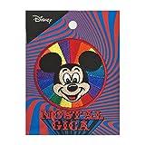 ディズニー ノスタルジカ ワッペン ミッキーマウス レインボー APDS3593N