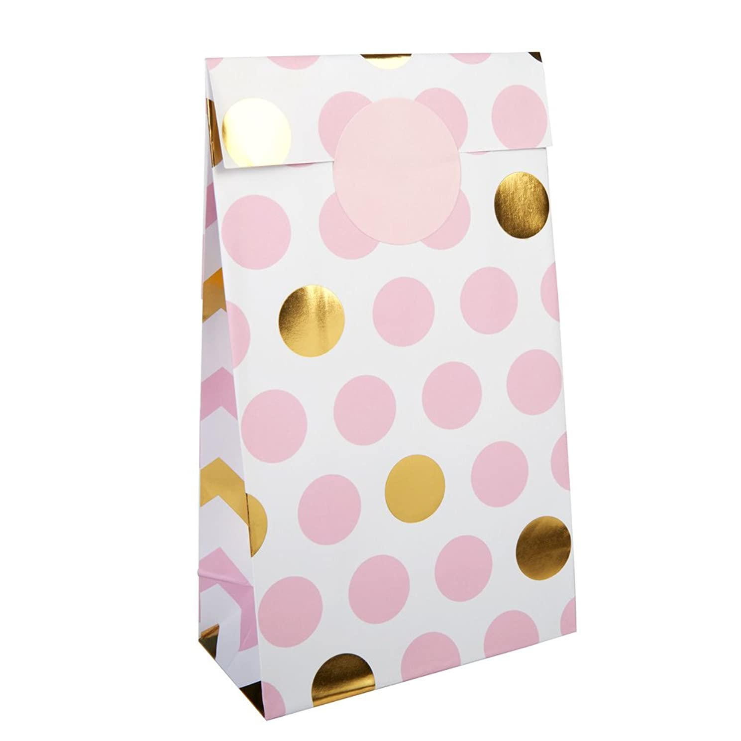 Neviti Pattern Works - Party Bag Pink, Pack Of 5