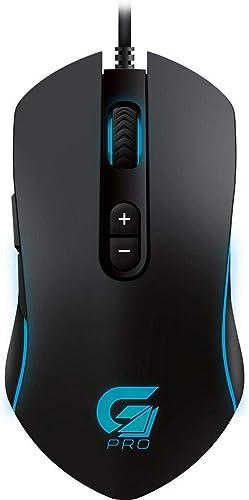 Fortrek PRO M7 RGB - Mouse Gamer, Preto