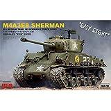 ライフィールドモデル 1/35 アメリカ軍 M4A3E8 シャーマン中戦車 イージーエイト w/可動式履帯 プラモデル RFM5028