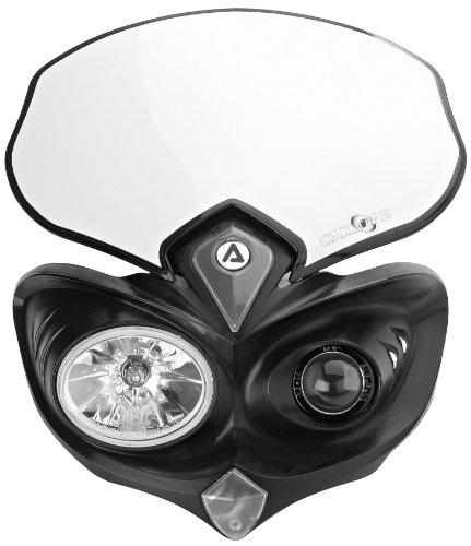 Acerbis 2042690001 Cyclops Black Headlight