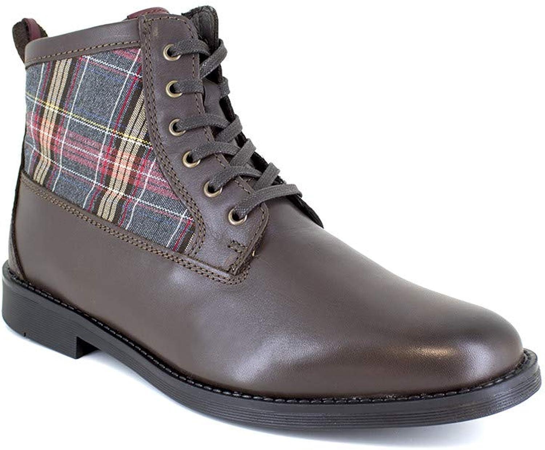 J.Bradford Low Boot Brown Leather JB-Scott